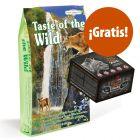 Taste of the Wild 6,6 kg pienso para gatos + snacks Alpha Spirit ¡gratis!