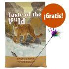 Taste of the Wild 2 kg pienso + plumero de juguete ¡gratis!