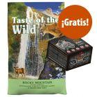 Taste of the Wild 6,6 kg pienso + snacks Alpha Spirit ¡gratis!