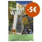 Taste of the Wild pienso para gatos ¡con gran descuento!