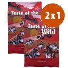 Taste of the Wild pienso para perros en oferta: 2 kg + 2 kg ¡gratis!