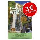 Taste of the Wild ração com grande desconto!