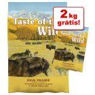 Taste of the Wild ração 14,2 kg em promoção: 2 kg grátis!
