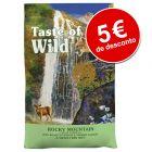 Taste of the Wild ração para gatos com grande desconto!