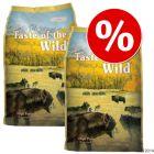 Taste of the Wild -säästöpakkaus, 2 x 12.2 kg