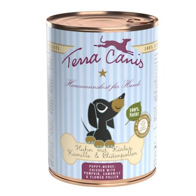 Terra Canis Puppy Food 6 x 400g