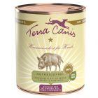 Terra Canis 6 x 800 g pour chien