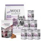 Testa Wolf of Wilderness Junior i blandat provpack!