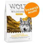 """Testează acum: 1 kg Wolf of Wilderness """"Xplore"""" hrană uscată"""