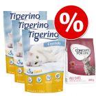 Testirajte: 3 x 5 l Tigerino Crystals + Concept for Life 400 g!