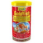 Tetra Goldfish comida en copos para peces
