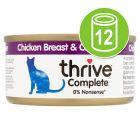 Thrive Adult Wet Complete Cat Food Kattenvoer 12 x 75 g
