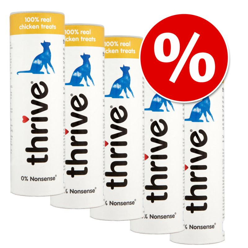 Thrive Cat Snacks -säästöpakkaus