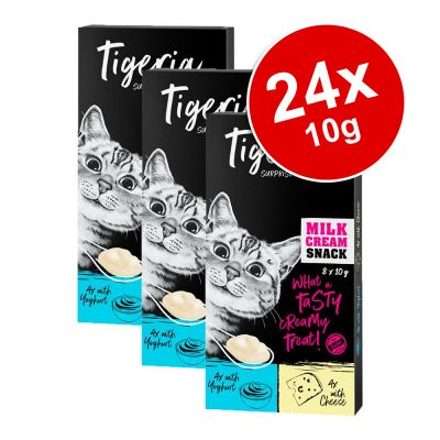 Tigeria Milk Cream Mix Saver Pack 24 x 10g