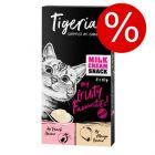 Tigeria Milk Cream Mix 8 x 10 g till lågt prova-på-pris!