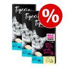 Tigeria Milk Cream 24 x 10 g snacks para gatos - Pack Ahorro mixto