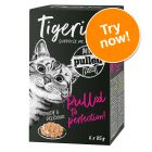 Tigeria Pulled Meat Mixed Trial Pack 6 x 85g