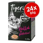 Tigeria Pulled Meat Saver Pack 24 x 85g