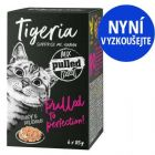 Tigeria Pulled Meat 6 x 85 g míchané balení na zkoušku