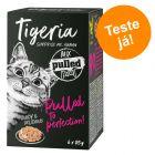 Tigeria Pulled Meat 6 x 85 g - Pack misto de experimentação