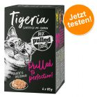 Tigeria Pulled Meat 6 x 85 g pour chat
