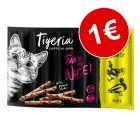 Tigeria Sticks 10 x 5 g snacks ¡por solo 1 €!