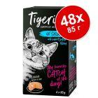 Экономупаковка Tigeria 48 x 85 г влажный корм для кошек