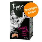 Смешанная упаковка Tigeria 6 x 85 г влажный корм для кошек