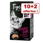 Tigeria 10 x 85 g + 2 boîtes offertes !