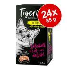 Tigeria 24 x 85 g comida húmeda para gatos - Pack Ahorro