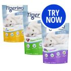 Tigerino Crystals Silicate Cat Litter - Mixed Pack