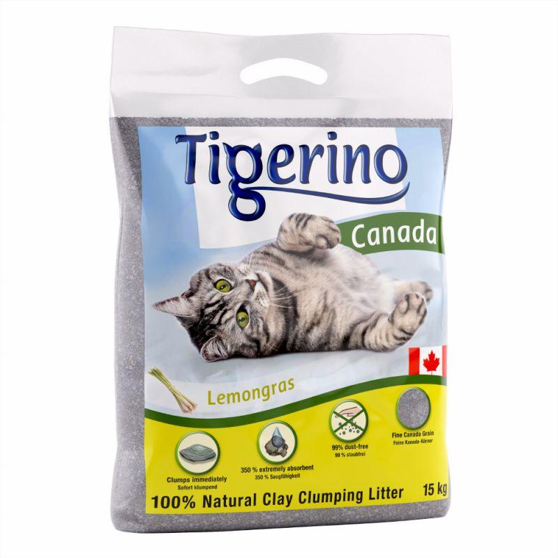 Tigerino Canada areia aglomerante com aroma a citronela