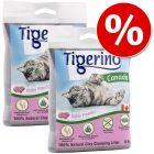 Tigerino Canada areia aglomerante 2 x 12 kg com desconto!
