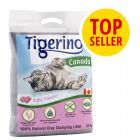 Tigerino Canada arena aglomerante con olor a talco