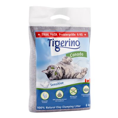 Tigerino Canada Cat Litter Trial Pack