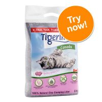 Tigerino Canada Cat Litter Trial Pack – Babypowder Scented