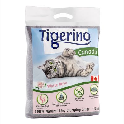 Tigerino Canada Cat Litter – White Rose Scented