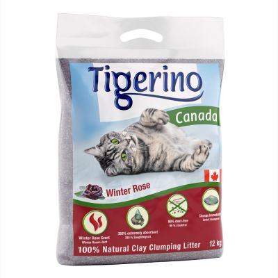 Tigerino Canada Cat Litter – Winter Edition: Winter Rose