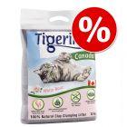 Tigerino Canada 12 kg arena aglomerante ¡con descuento!