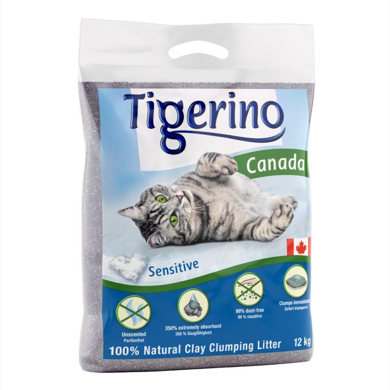 Tigerino Canada -kissanhiekka, hajustamaton