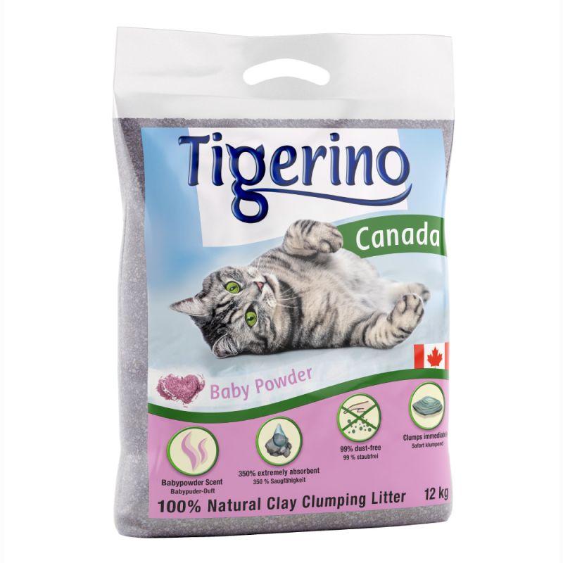 Tigerino Canada -kissanhiekka, talkintuoksuinen