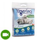 Tigerino Canada Sensitive комкующийся наполнитель без запаха