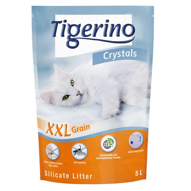 Tigerino Crystal XXL areia de sílica