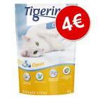 Tigerino Crystals areia absorvente sem aroma por apenas 4 €!