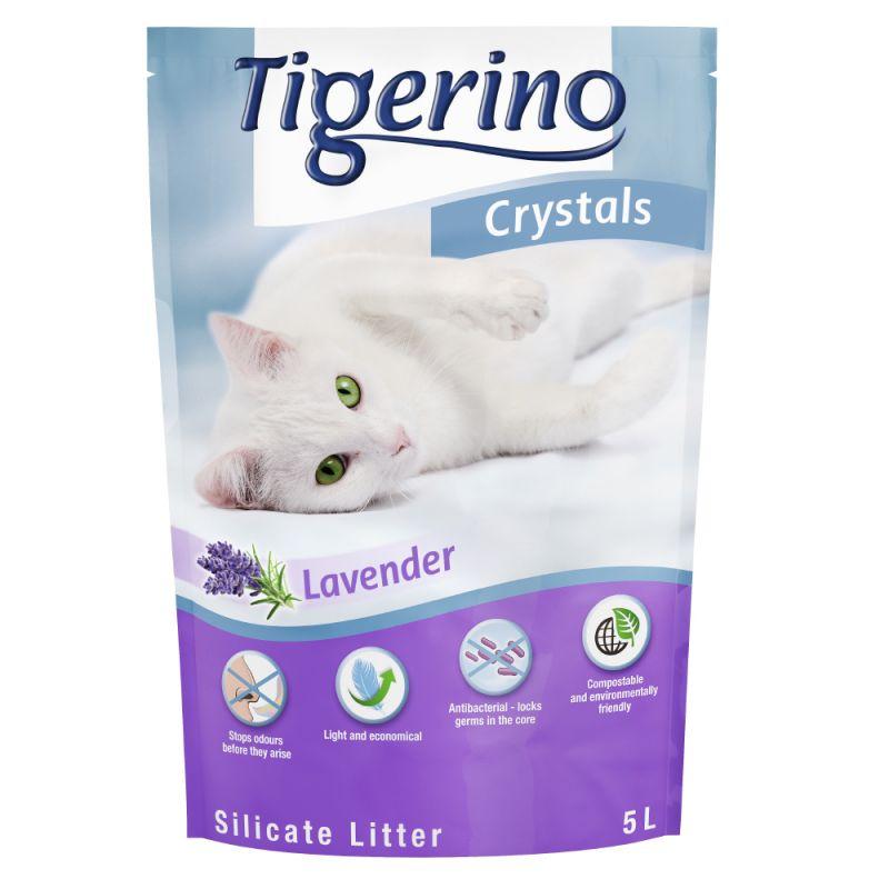 Tigerino Crystals arena absorbente con olor a lavanda