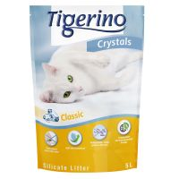 Tigerino Crystals Classic Silicate Litter