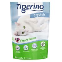 Tigerino Crystals Flower Power areia absorvente
