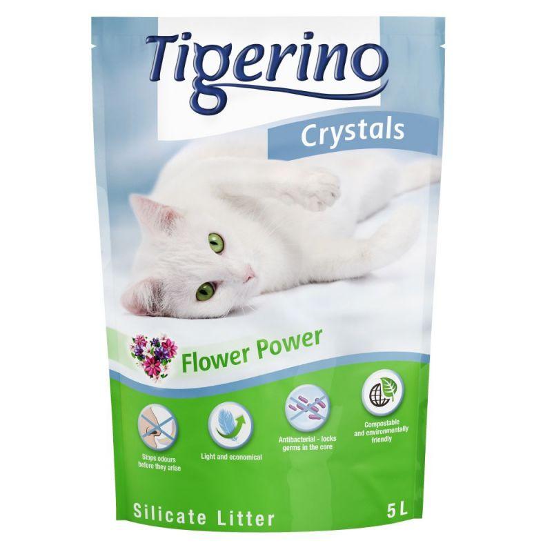 Tigerino Crystals Flower Power areia absorvente