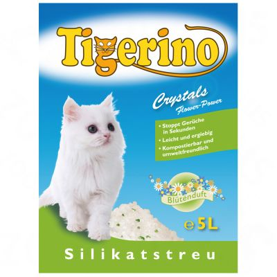 Tigerino Crystals Flower-Power Kattenbakvulling