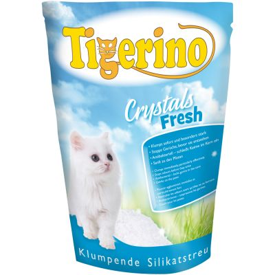 Tigerino Crystals Fresh Clumping Cat Litter